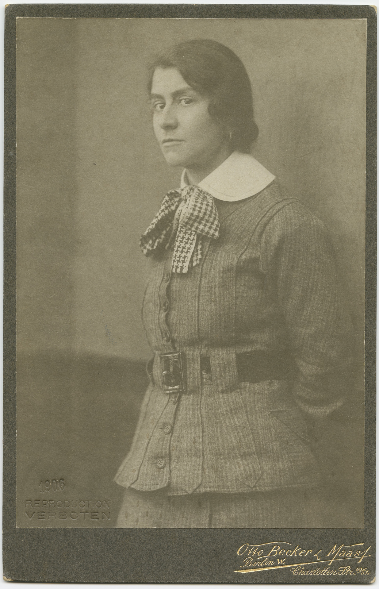 Portrait Photograph of Else Lasker-Schüler