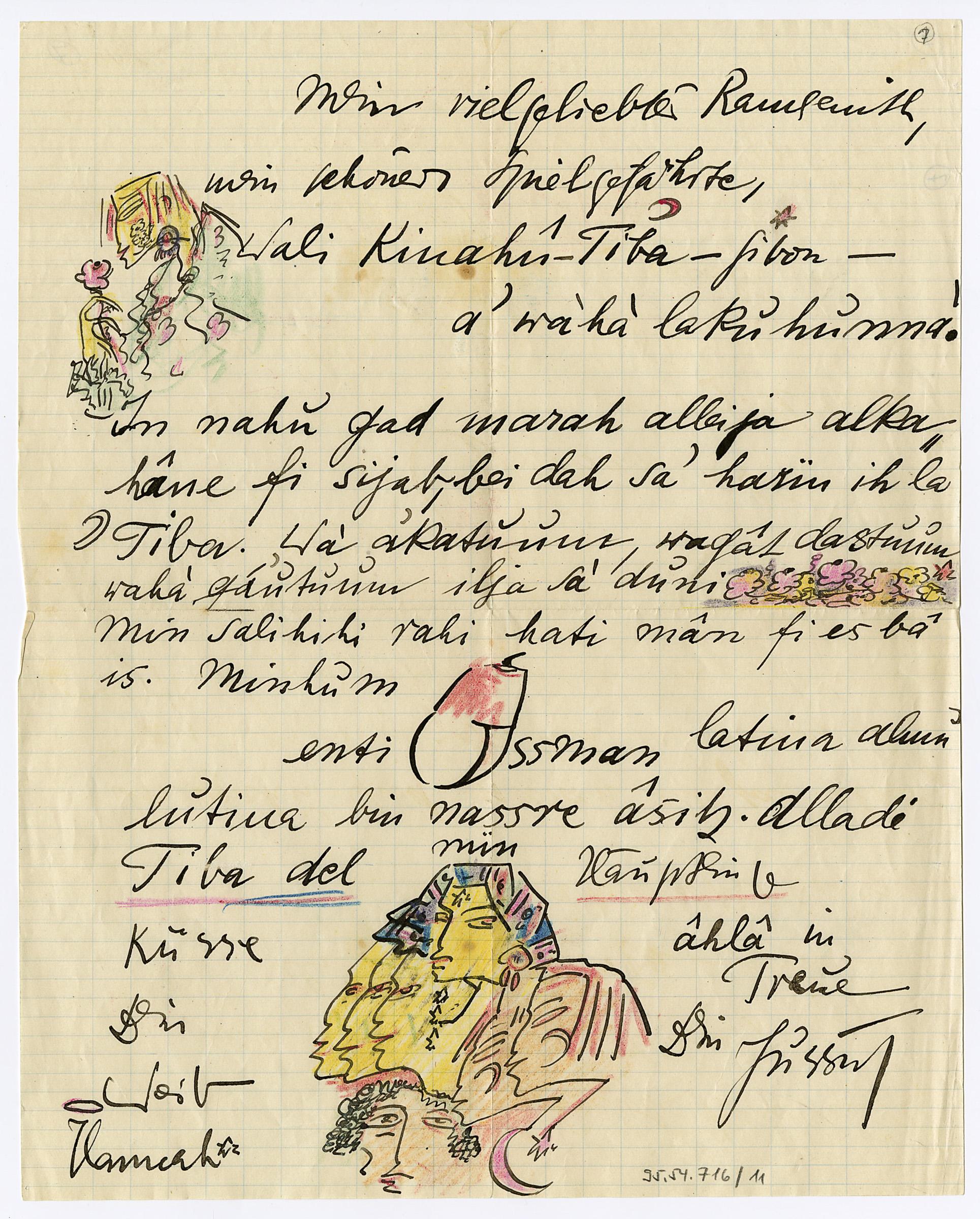 Letter to Karl Wolfskehl
